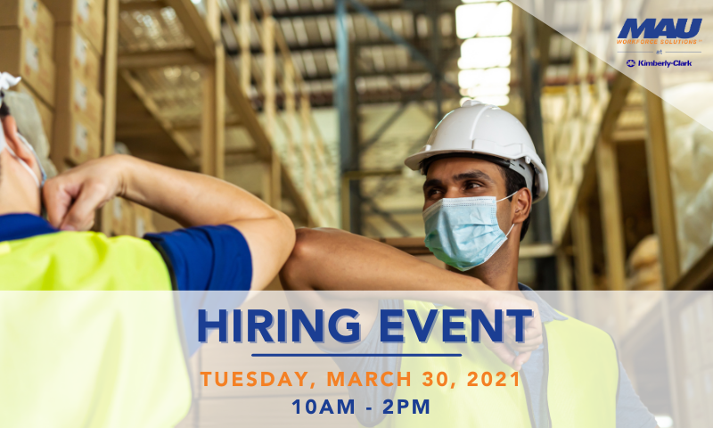 Drive Thru Hiring Event manufacturing positions Augusta