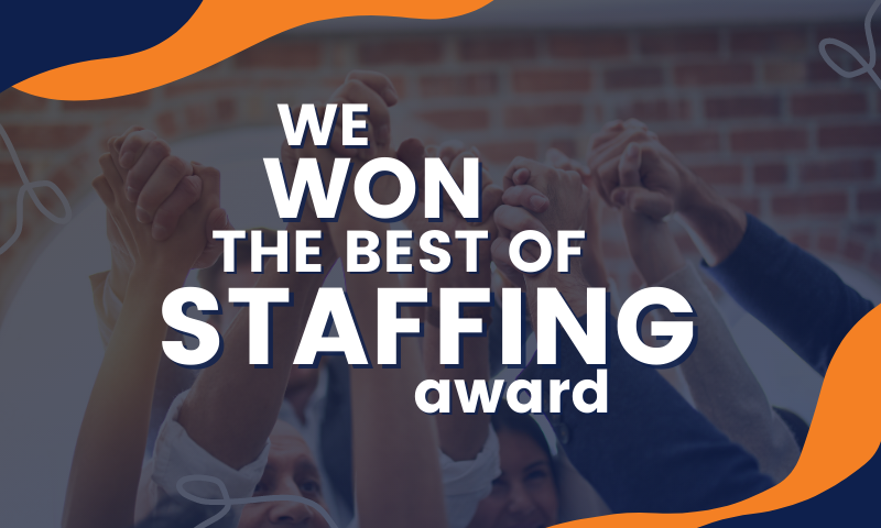 MAU Wins ClearlyRated's 2021 Best of Staffing Client Award