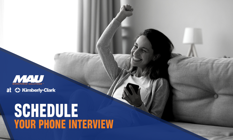 Schedule Your Phone Interview Today!