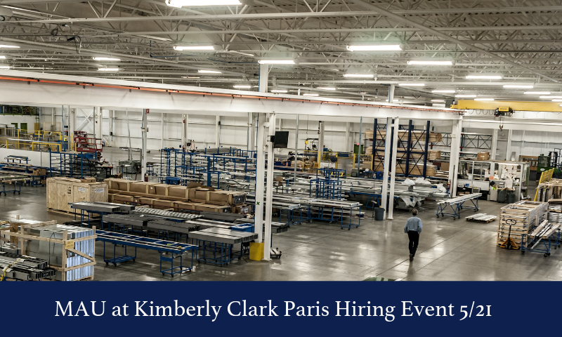 MAU at Kimberly Clark Hiring Event 52F21 (1)