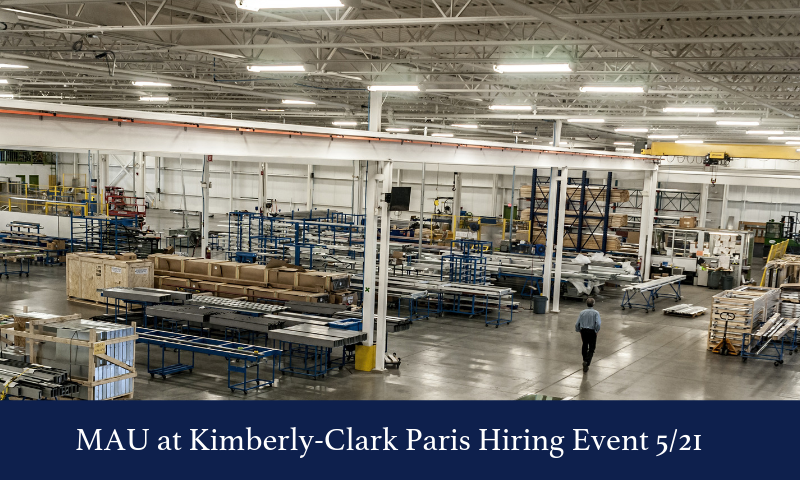 MAU at Kimberly Clark Hiring Event 52F21 (2)