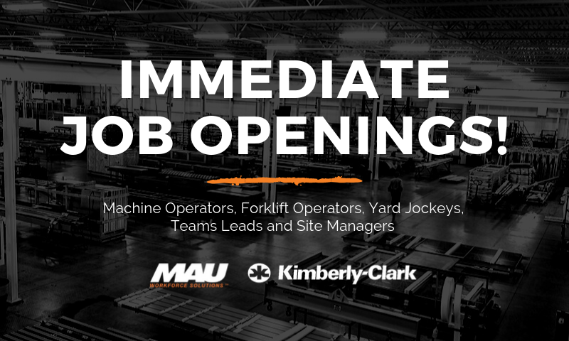 MAU at Kimberly-Clark in Hendersonville