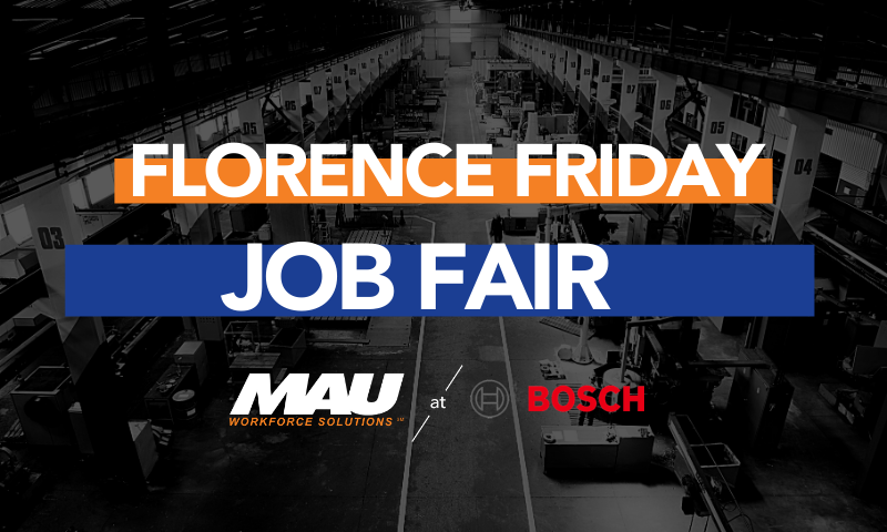 MAU at Robert BOSCH Florence Friday Job Fair
