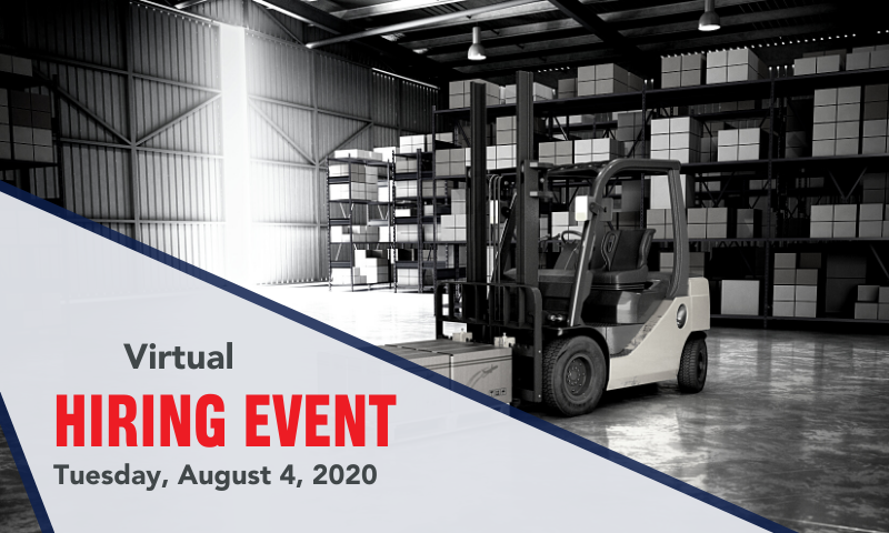 Join the MAU team at Robert BOSH in Albion at the Virtual Hiring Event