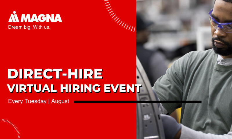 2020 August Magna Virtual Hiring Event