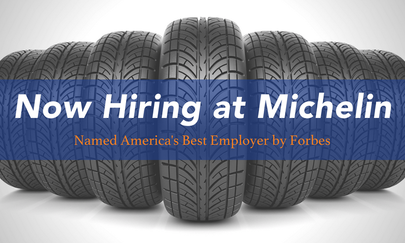 Michelin Now Hiring Blog Image