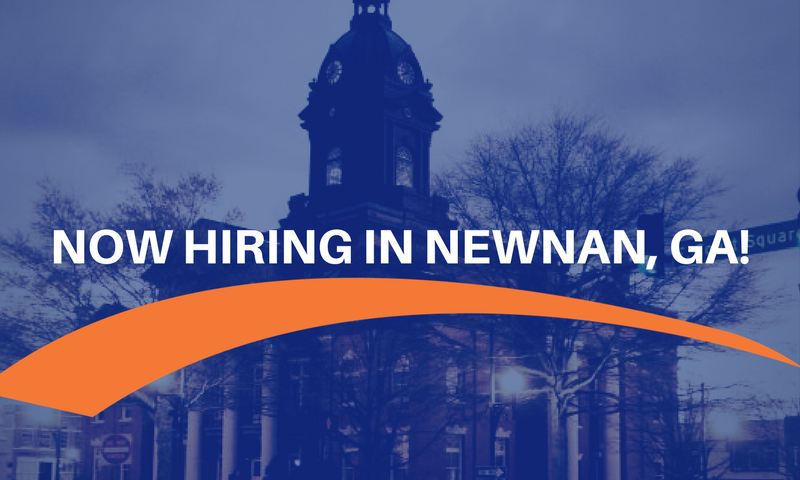 What's New in Newnan? MAU is Now Hiring!