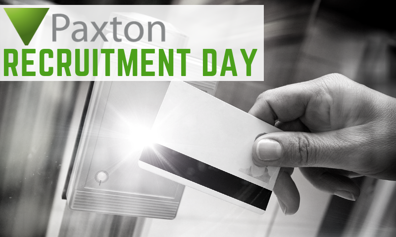 Paxton Recruitment Day-1