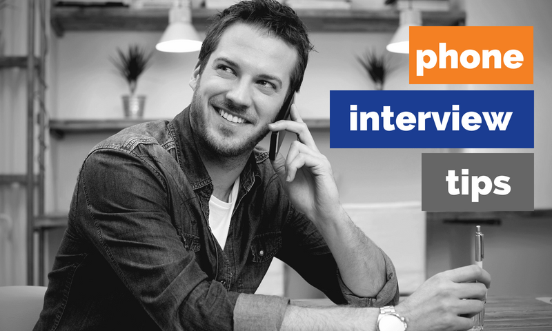Phone Interview Tips MAU Blog Image