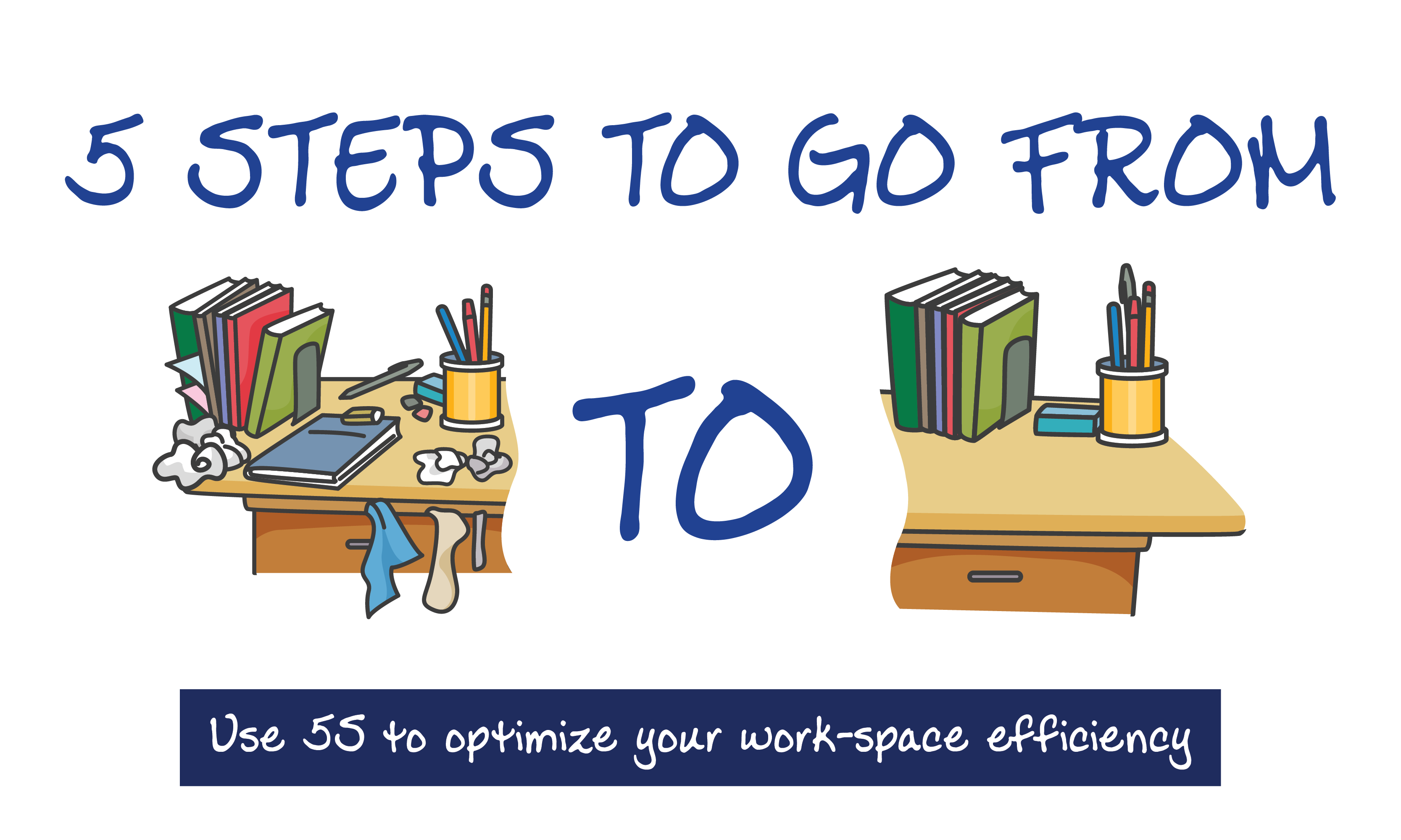 Spring Cleaning: How to Organize Your Work-Space Using 5S