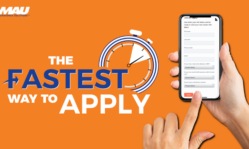 Apply for Forklift Operator Positions in Augusta with our new Quick Apply System