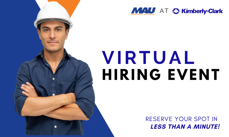MAU at Kimberly-Clark Virtual Hiring Event
