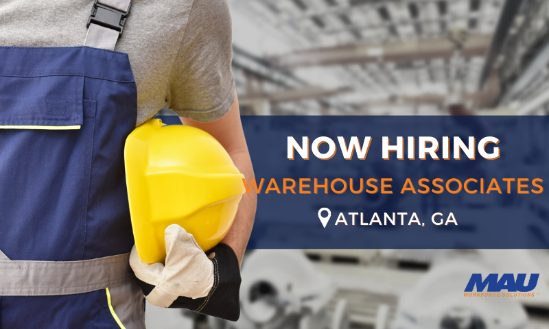 Hiring Warehouse Associates with Click apply
