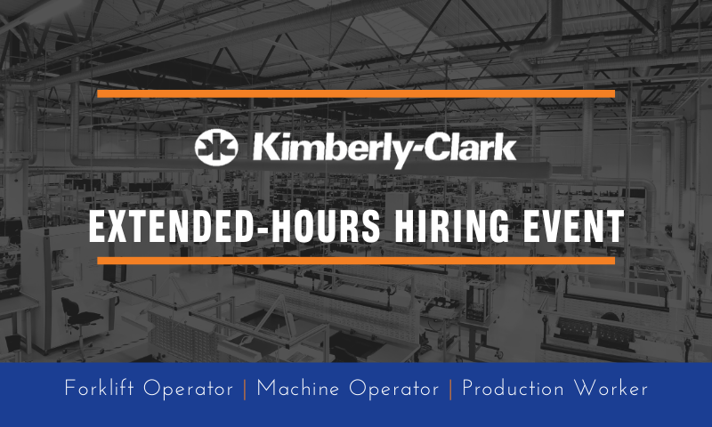 extended-hours hiring event