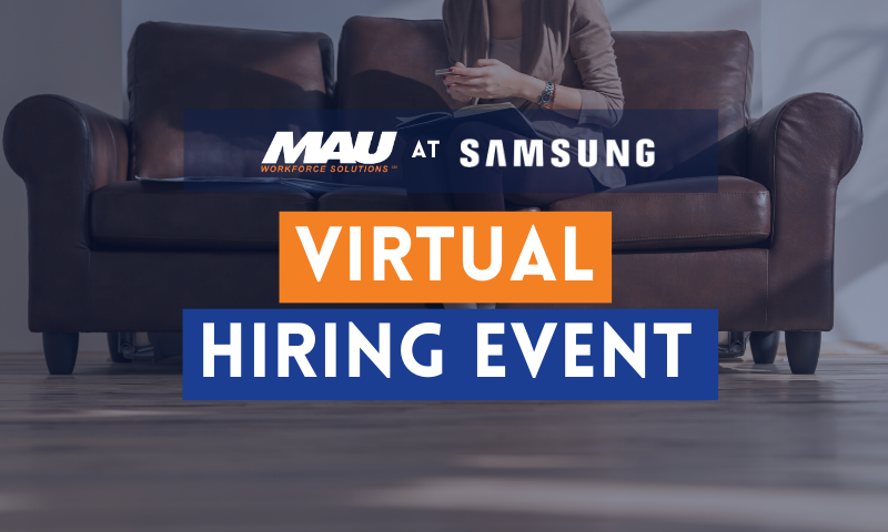 MAU at Samsung Hiring Event